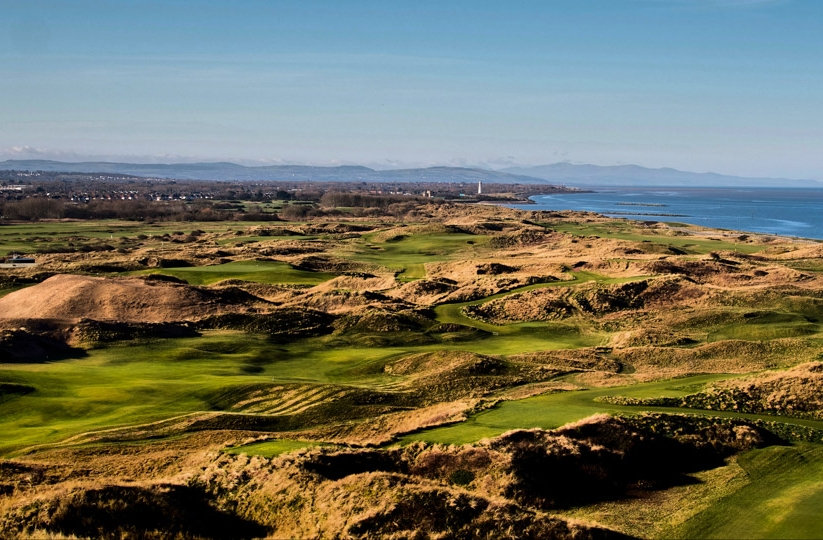 The links at Wallasey Golf Club.