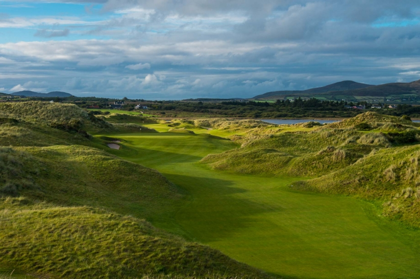 The 11th hole at Waterville Golf Links.