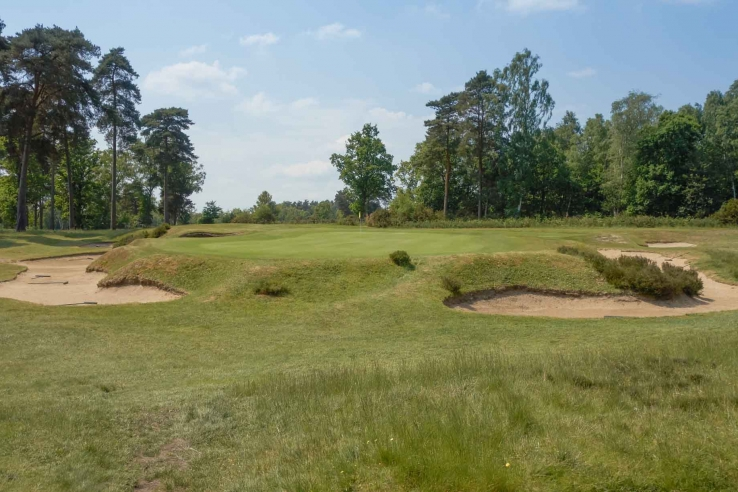 The JF Abercormby one shot holes at Worplesdon Golf Club are as good as any!