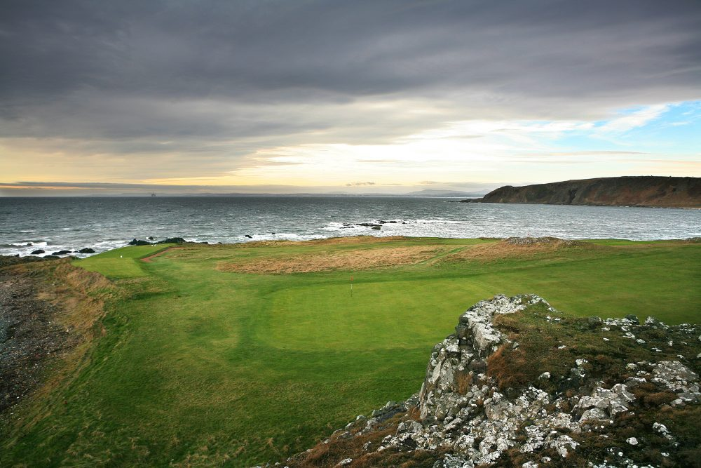 Across the Firth of Forth at THE GOLF HOUSE CLUB ELIE.