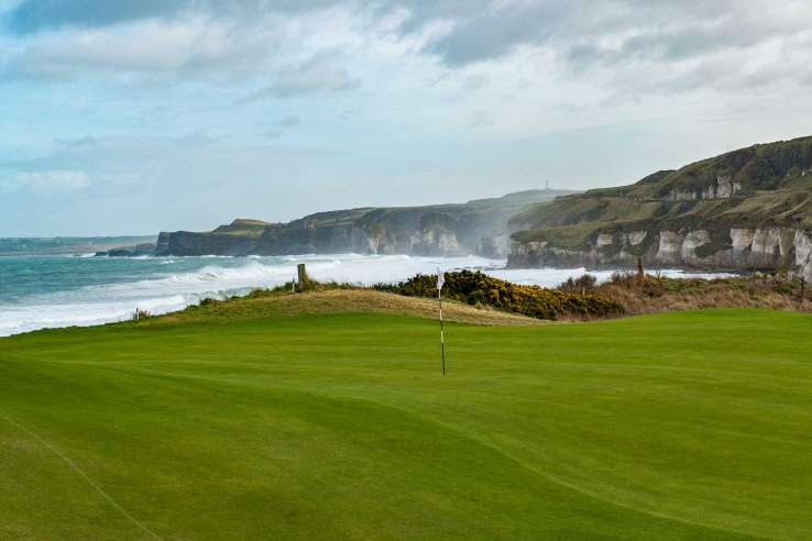 The Wild Atlantic at Royal Portrush Golf Club.