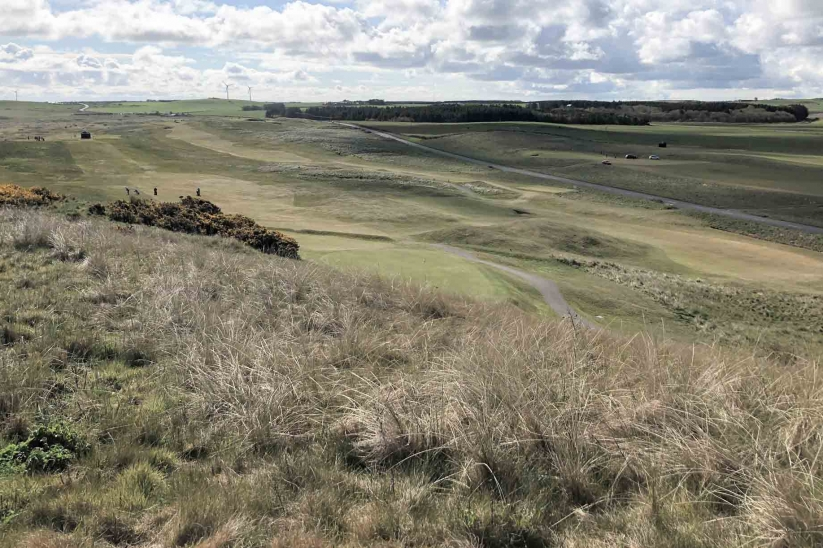 A photo of the oldest golf course North of St Andrews - Fraserburgh Golf Club.