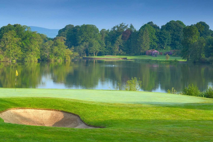 The inland parkland golf course that is Malone Golf Club.