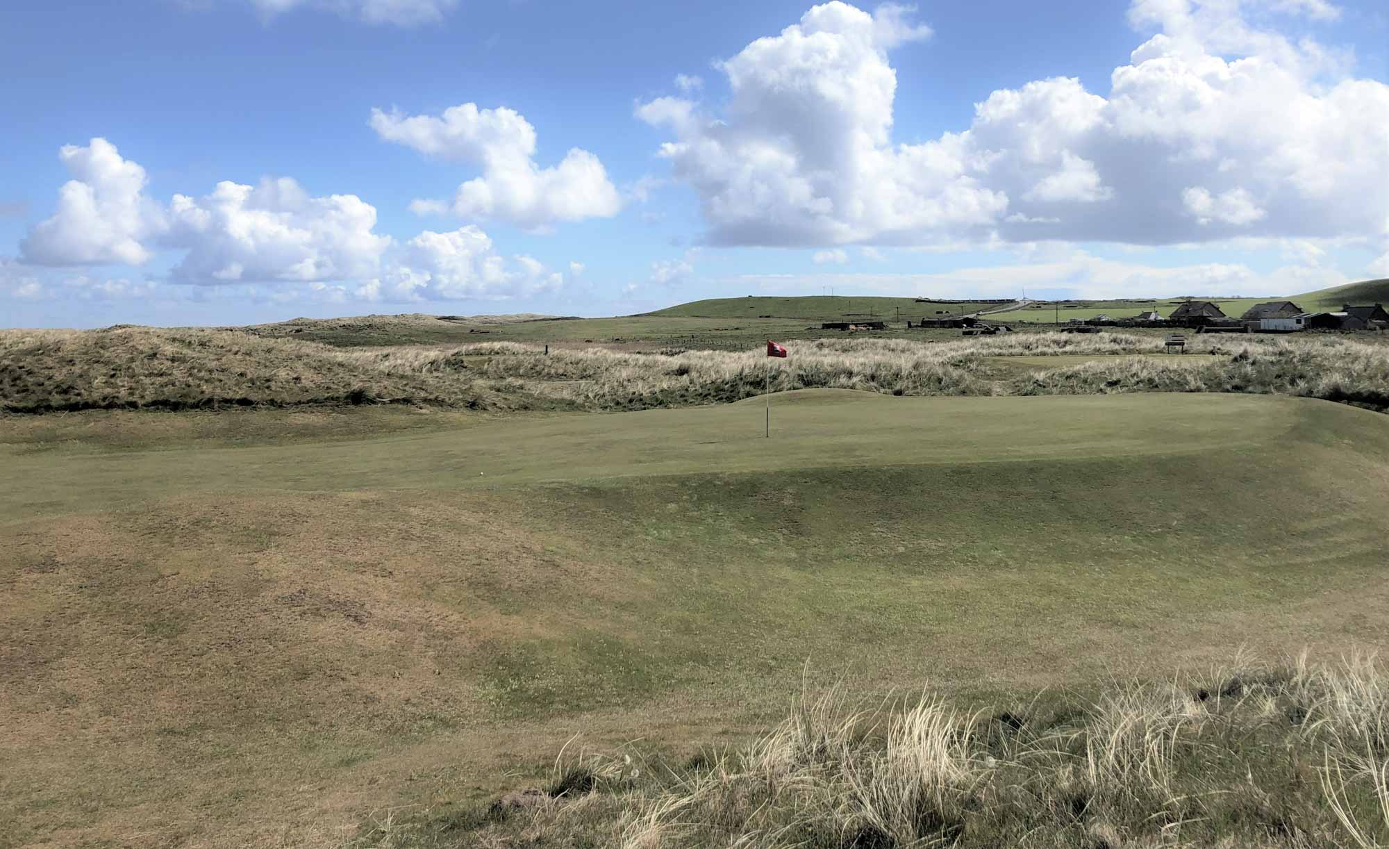 A photo of the links at Fraserburgh Golf Club.