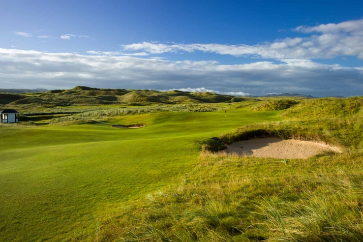 A photo of The Rosapenna Old Tom Morris Links.