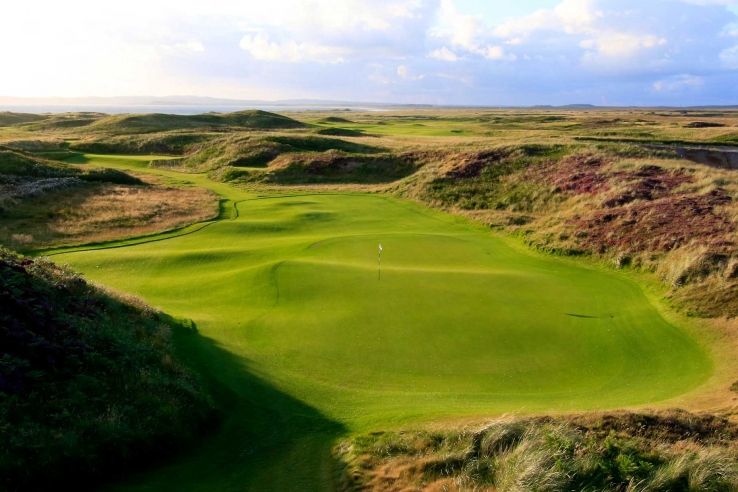 The dunes of Islay at The Machrie GolfLinks.