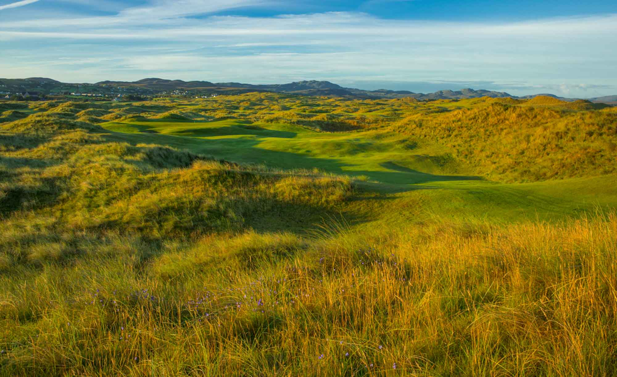 The rugged links land at Rosapenna Sandy Hills Links.