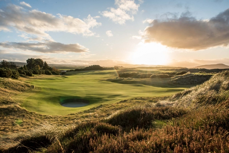 The movement of the land at Castle Stuart Golf Links is mature beyond its years.