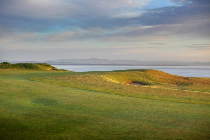 The gentle movement of the ground at Fairmont St Andrews as shown here.