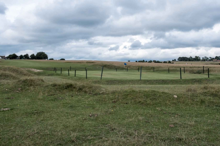Golf the way it was meant to be at Minchinhampton Old Golf Course.