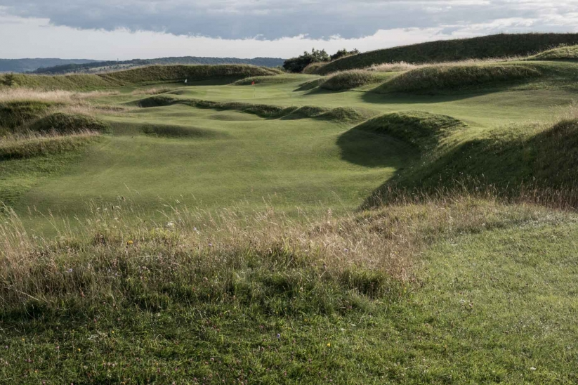 The routing over the ancient iron age fort makes Painswick Golf Club so unique.