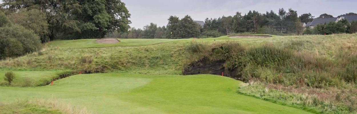 A photo of the 10th hole at Cavendish Golf Club.