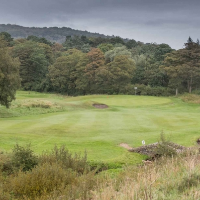 A photo of the Cavendish Golf Club in Derbyshire, England.