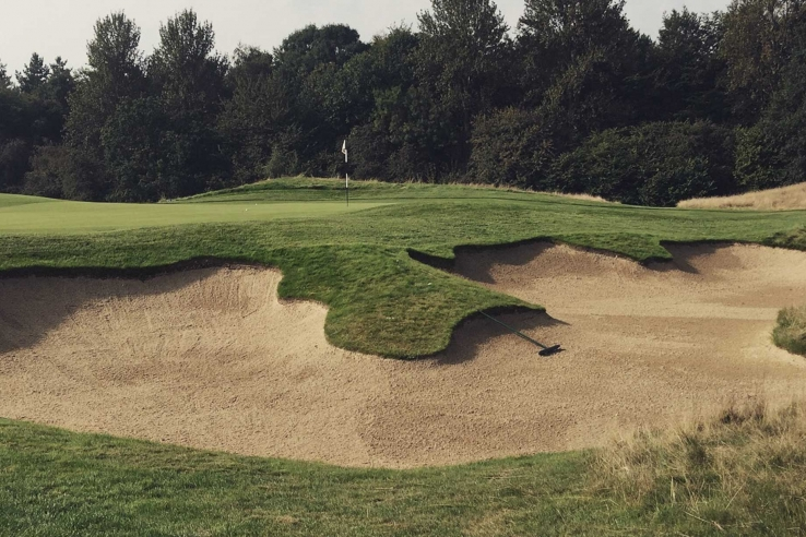 Centurion Golf Club is a new golf course within easy reach of London.