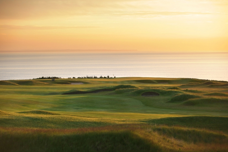 A view over St Andrews Bay at Fairmont St Andrews Kittocks.