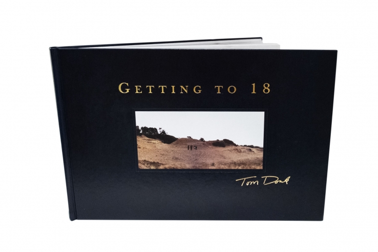The first volume of Getting To 18 by Tom Doak.