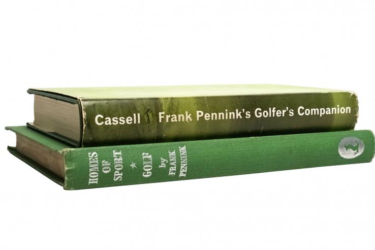 The book: Golfer's Companion.