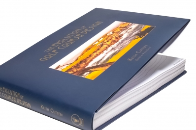 A photo of the book The Evolution of Golf Course Design by Keith Cutten.