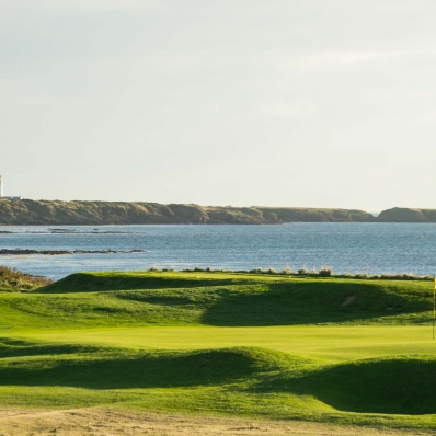 A view of the links at Castletown Golf Club