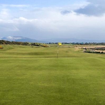 A greensite at Golspie Golf Club.