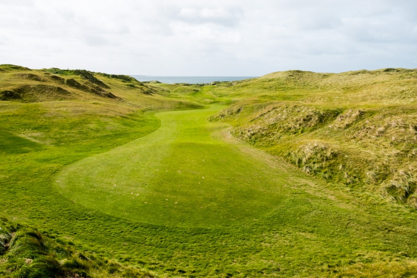 View of the Klondyke at Lahinch Golf Club Old Course.
