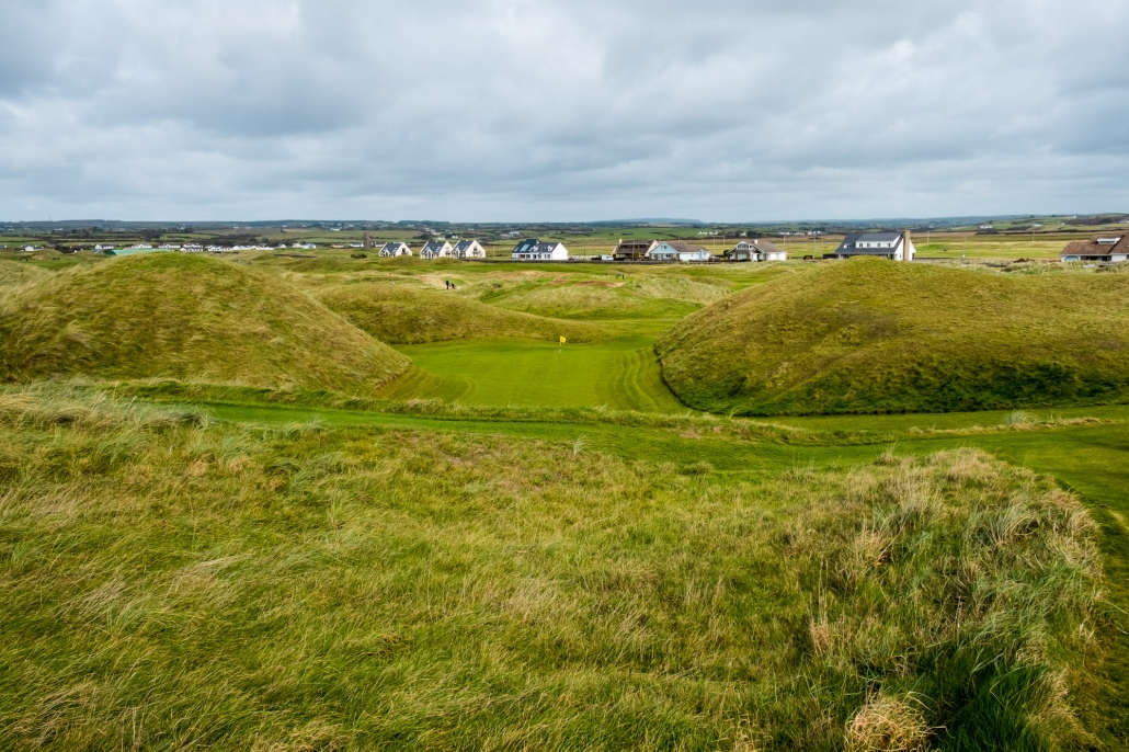 A photo of Dell at Lahinch Golf Club. The basis for many template holes.