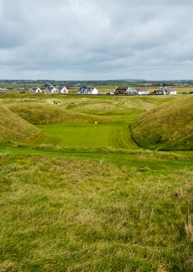 The Dell at Lahinch Golf Club.