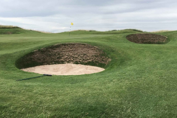 The revetments at Muirfield are some of the very best in the world.