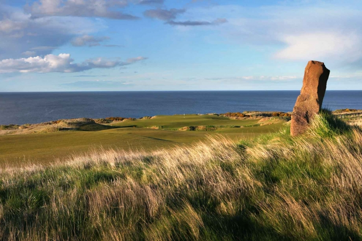 The 6th hole at Castle Course St Andrews.