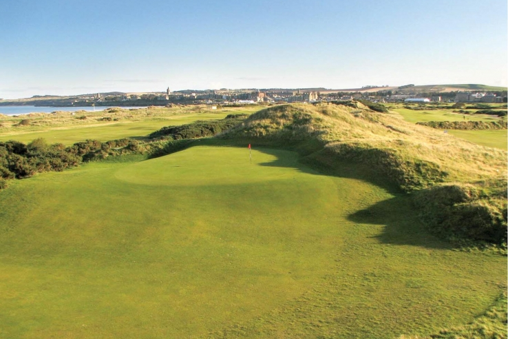 A green complex at Jubilee Course St Andrews.