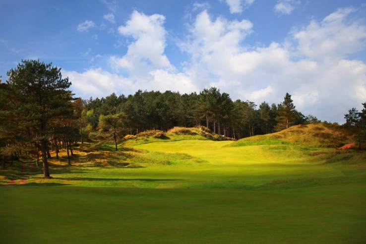 The golf heaven of Formby Golf Club.