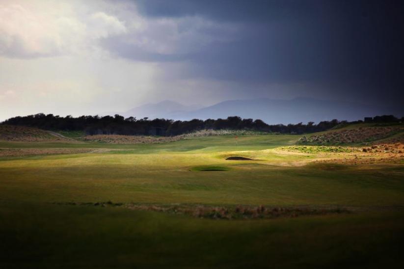 The No 1 Course at Gullane Golf Club.