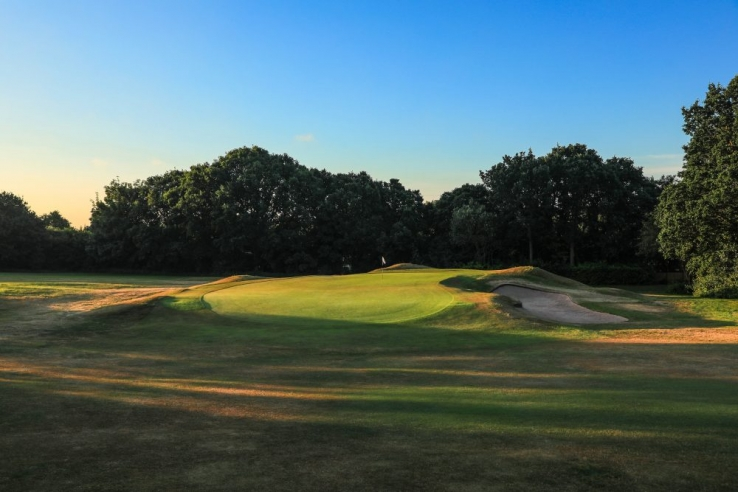The 15th hole at Harborne Golf Club.