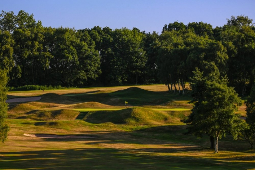 The 2nd hole at Harborne Golf Club.