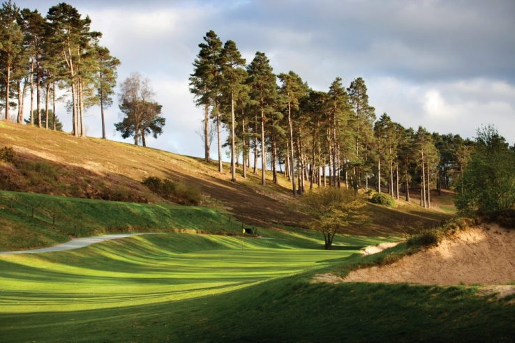 The beauty is staggering at Hindhead Golf Club, Surrey, England.