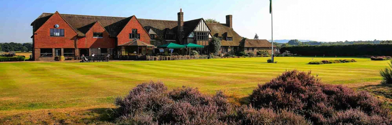West Sussex Golf Course Clubhouse