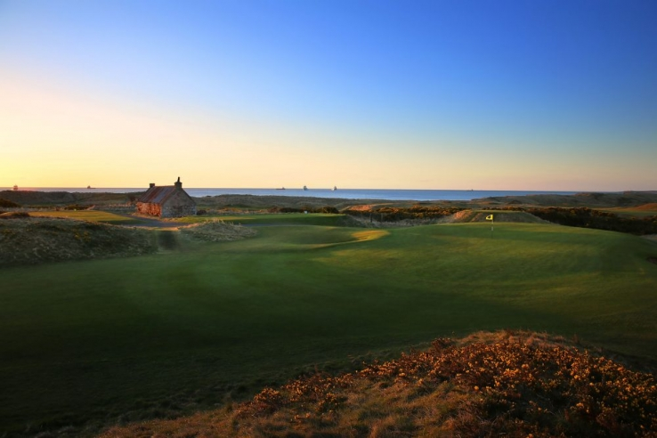 The first hole at Murcar Links.