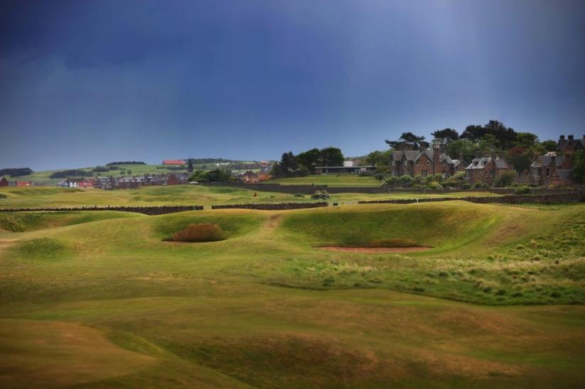 The Redan at North Berwick Golf Club.