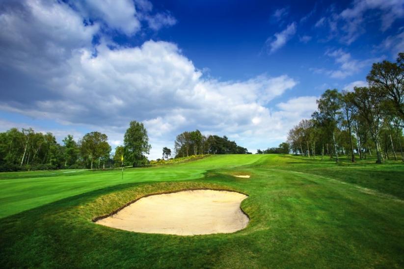 The 6th hole at North Hants Golf Club.
