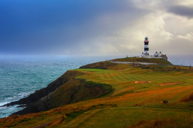The lighthouse at Old Head Golf Links, Kinsale.