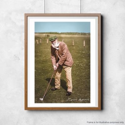 Old Tom Morris Colourised Image