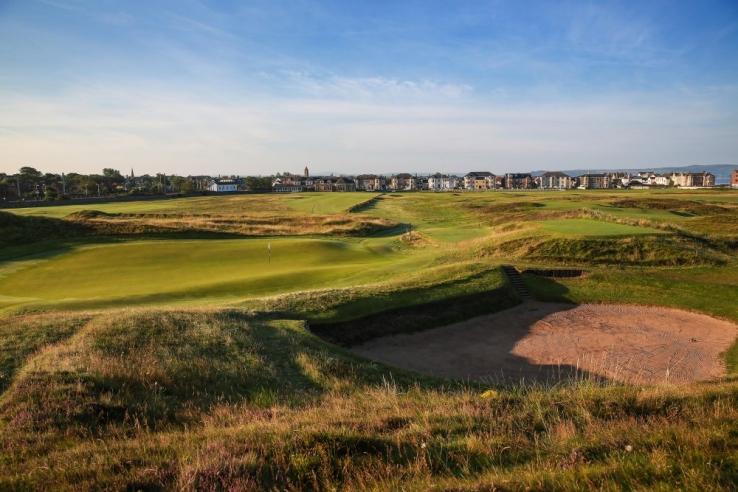 The 17th at Prestwick Golf Club.