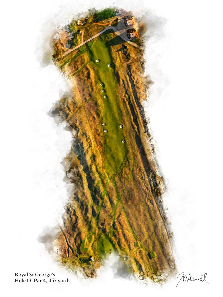 13th Hole at Royal St George's Golf Club