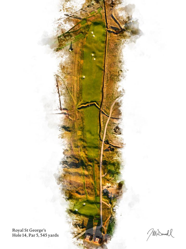 14th Hole at Royal St George's Golf Club