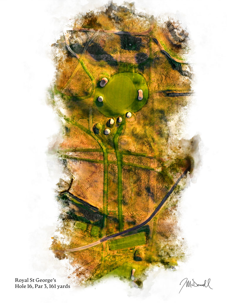 16th Hole at Royal St George's Golf Club