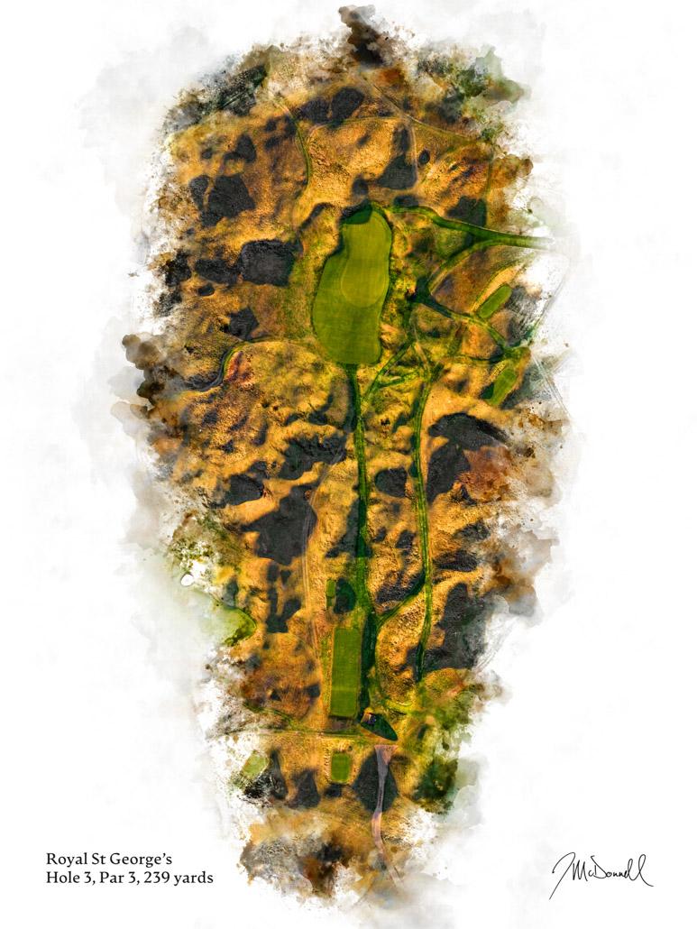 3rd Hole at Royal St George's Golf Club