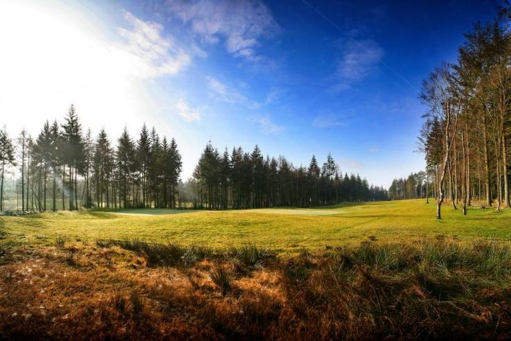 The 16th hole at Remedy Oak Golf Club.