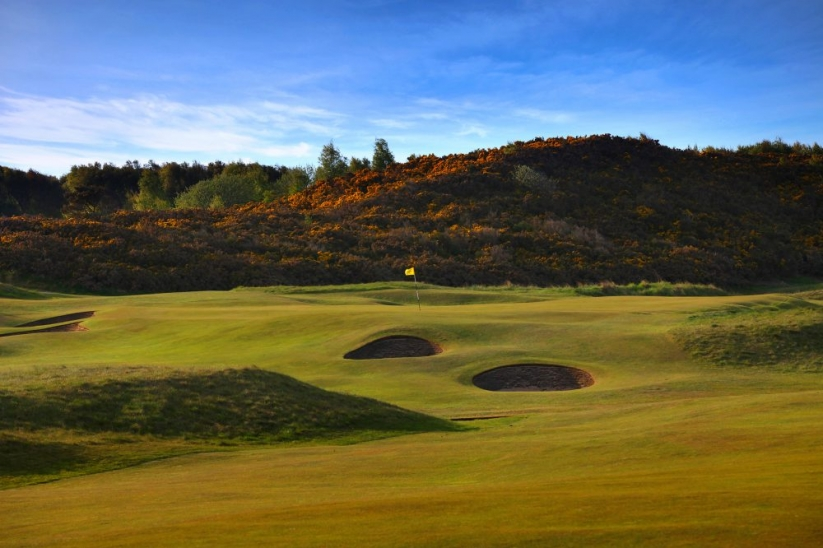 Put bunkers at one of the best golf courses in the world, Royal Dornoch.
