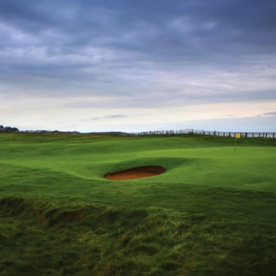 One of the top Welsh links shown here is Royal Porthcawl Golf Club.