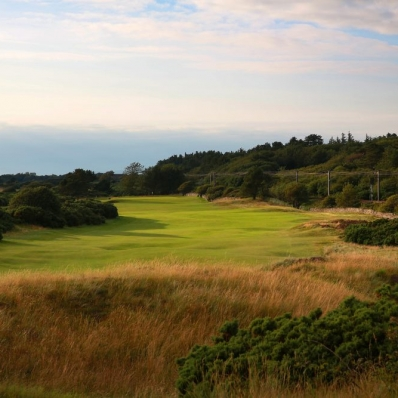 The 11th hole at Royal Troon Golf Club.